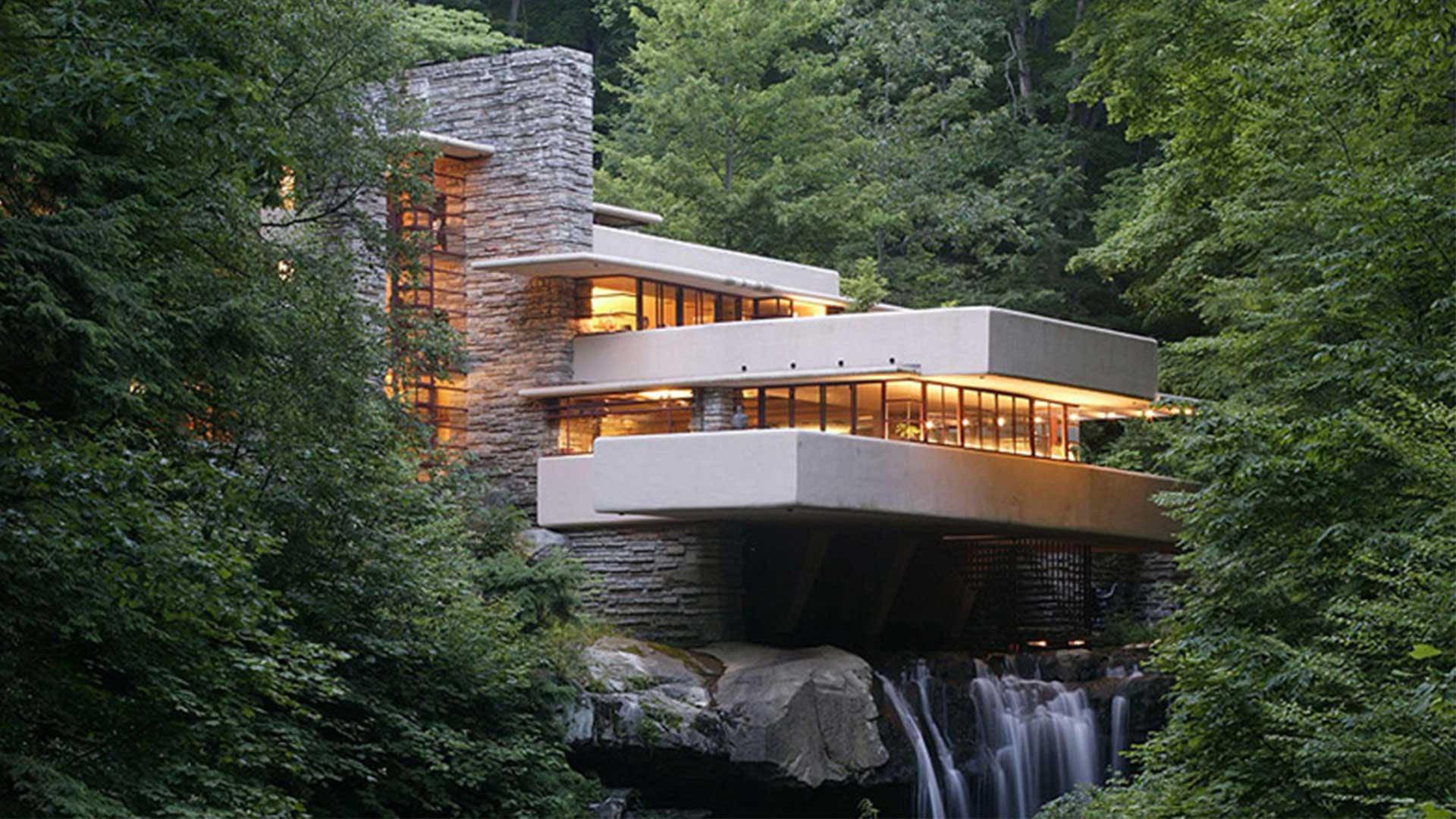 дом над водопадом фрэнка ллойда райта фото насекомые